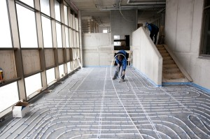 In nieuwbouwproject Erasmushiem ligt 160 kilometer aan vloerverwarming