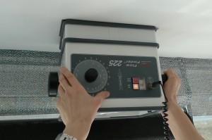 Controle van ventilatiesysteem. Foto: Koppen VastGoed