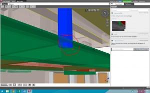 Voorbeeld van een BCF, met rechts in de velden de opmerkingen over het detail.