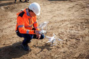 Wat kunnen drones betekenen voor de bouw? ZXY Builders voerde een pilot uit voor Heembouw. (C) Roel Dijkstra Fotografie / Foto Fred Libochant