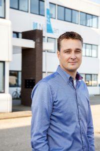 Sander van der Tol van Nieman Raadgevende Ingenieurs. FOTO'S: HERBERT WIGGERMAN