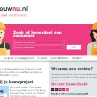 Bouwnu, reviews in de bouw