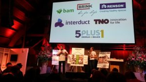 Pitches van de finalisten in De Fabrique.
