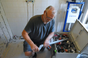 """Marcel de Vries: """"Werkspot is goed voor tien tot twaalf klussen per jaar."""""""