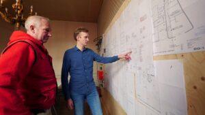 Durrieux en Van der Toorn zijn zeer te spreken over de Festool-service. (Foto: Rob Goossens)
