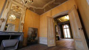 Binnen de muren van de 17e patriciërswoning heeft de tijd stilgestaan. (Foto: Rob Goossens)