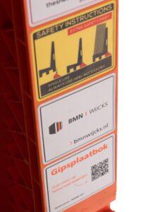 Een aantal grote handelaren - waaronder BMN Wijcks - werkt al met de kunststof bokken. (Foto: De Plaatmaat)