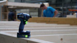 Groothuisbouw stond samen met Festool aan de wieg van hun verbeterde accuschroefmachine. (Foto: Rob Goossens)