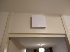 Indoor Mixfan makkelijk te installeren boven de deur. (Beeld: Brink Climate Systems)